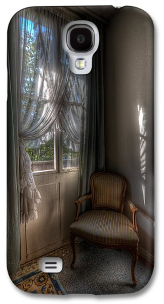 Creepy Digital Galaxy S4 Cases - Hotel chair Galaxy S4 Case by Nathan Wright