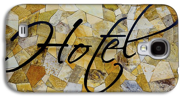 Built Structure Photographs Galaxy S4 Cases - Hotel Sign Galaxy S4 Case by Aged Pixel