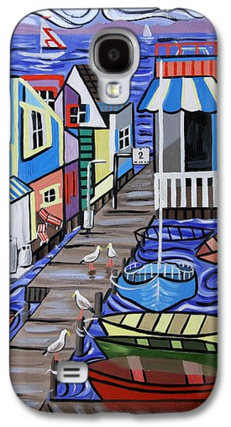 House Digital Art Galaxy S4 Cases - House Boats For Sale Galaxy S4 Case by Anthony Falbo