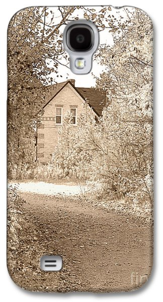 House Digital Art Galaxy S4 Cases - House in autumn Galaxy S4 Case by Blink Images