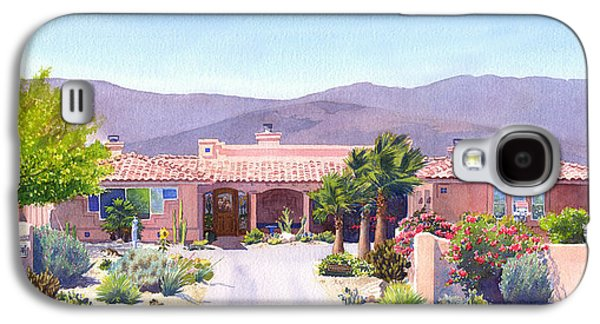 House In Borrego Springs Galaxy S4 Case by Mary Helmreich