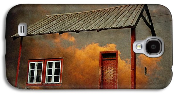 House In The Clouds Galaxy S4 Case by Sonya Kanelstrand