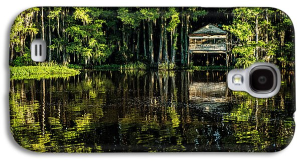Tamyra Ayles Galaxy S4 Cases - House in the Swamp Galaxy S4 Case by Tamyra Ayles