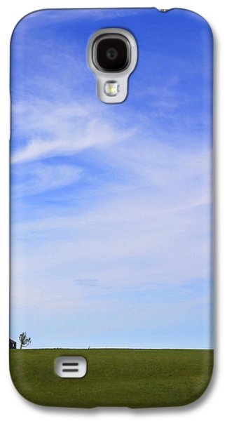 The Hills Galaxy S4 Cases - House on the Hill Galaxy S4 Case by Mike McGlothlen