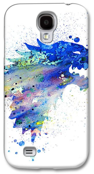 Illustration Paintings Galaxy S4 Cases - House Stark Galaxy S4 Case by Luke and Slavi