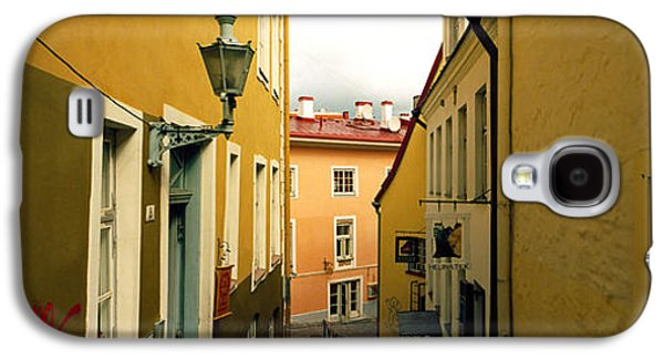 Tallinn Galaxy S4 Cases - Houses Along A Street, Toompea Hill Galaxy S4 Case by Panoramic Images
