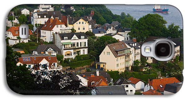Hamburg Galaxy S4 Cases - Houses In A Town, Blankenese, Hamburg Galaxy S4 Case by Panoramic Images