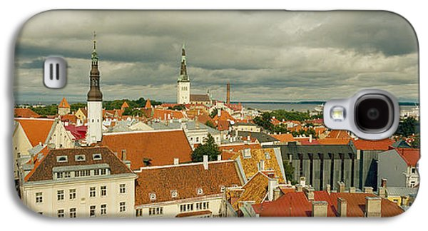 Tallinn Galaxy S4 Cases - Houses In A Town, Tallinn, Estonia Galaxy S4 Case by Panoramic Images