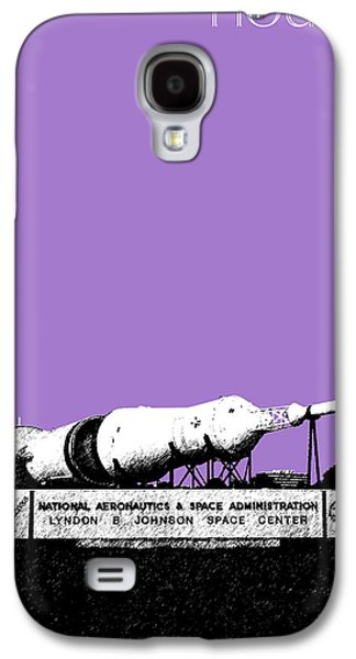 Houston Johnson Space Center - Violet Galaxy S4 Case by DB Artist