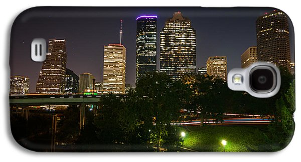 Hdr Galaxy S4 Cases - Houston never sleeps Galaxy S4 Case by Andy Crawford