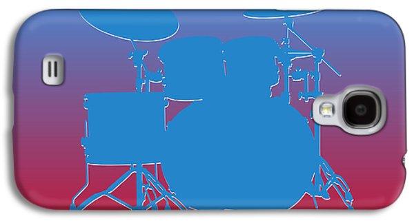 Houston Oilers Drum Set Galaxy S4 Case by Joe Hamilton