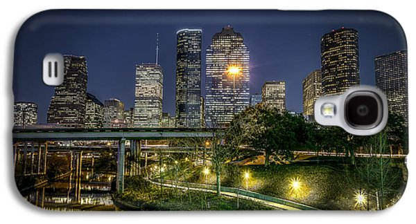 Houston On The Bayou Galaxy S4 Case by David Morefield