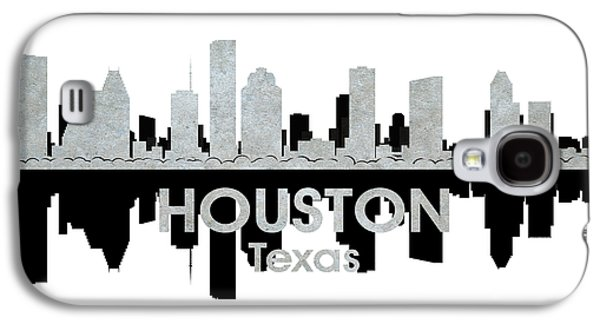 Industrial Mixed Media Galaxy S4 Cases - Houston TX 4 Galaxy S4 Case by Angelina Vick