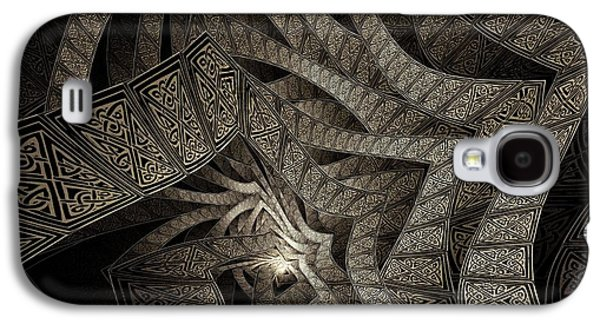 Nature Abstract Galaxy S4 Cases - How Great You Are Galaxy S4 Case by Missy Gainer