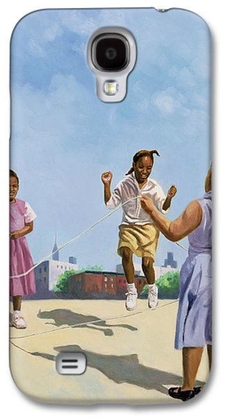 African-american Galaxy S4 Cases - How High Galaxy S4 Case by Colin Bootman