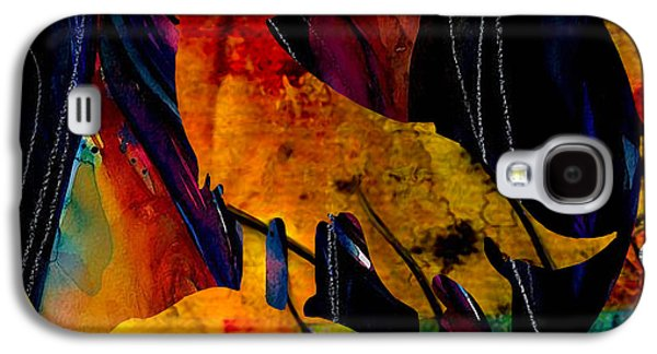 Howling At The Moon Galaxy S4 Case by Marvin Blaine