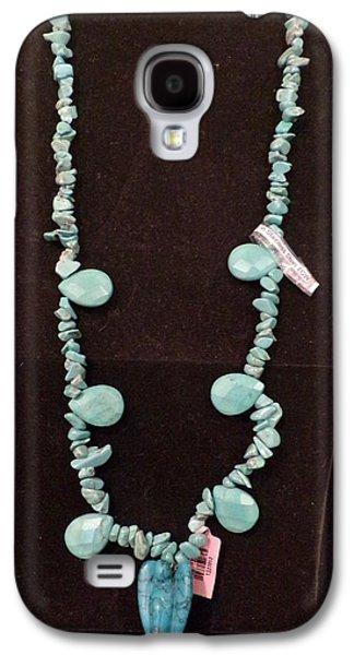 Girl Jewelry Galaxy S4 Cases - Howlite Angel Galaxy S4 Case by Dallas Holloman