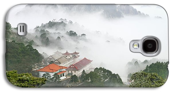 Fog Mist Galaxy S4 Cases - Huangshan national park Galaxy S4 Case by King Wu