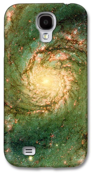 The Void Galaxy S4 Cases - Hubble - The Heart of the Whirlpool Galaxy Galaxy S4 Case by Paulette B Wright