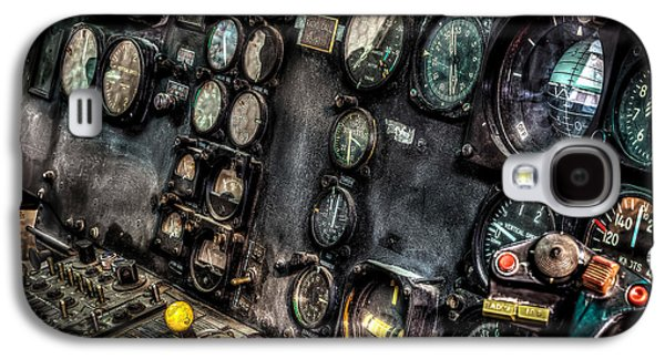 Huey Instrument Panel 2 Galaxy S4 Case by David Morefield