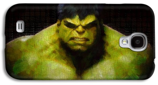 Fictional Galaxy S4 Cases - Hulk Smash Galaxy S4 Case by Dan Sproul