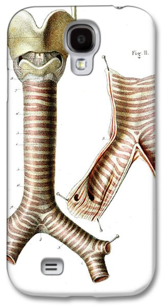 Human Airways Galaxy S4 Case by Collection Abecasis