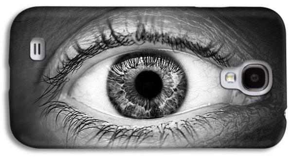 Human Eye Galaxy S4 Case by Elena Elisseeva