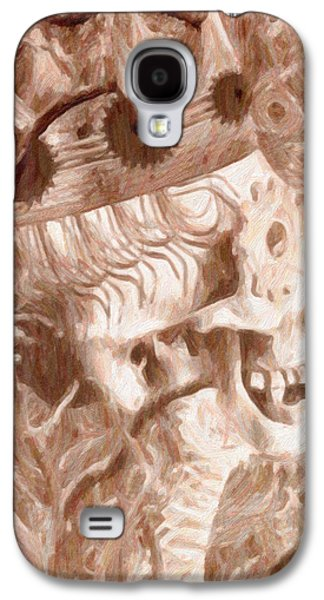 Macabre Digital Galaxy S4 Cases - Human Nature Galaxy S4 Case by Jacob King
