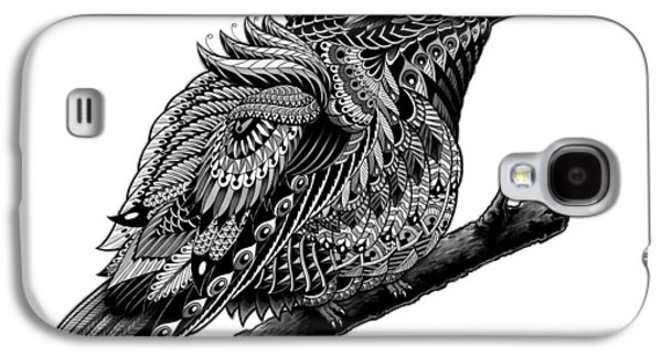 Native Drawings Galaxy S4 Cases - Hummingbird Galaxy S4 Case by BioWorkZ