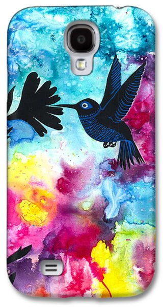 Hummingbird Galaxy S4 Case by Cat Athena Louise