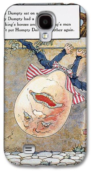Nursery Rhyme Galaxy S4 Cases - Humpty Dumpty, 1915 Galaxy S4 Case by Granger
