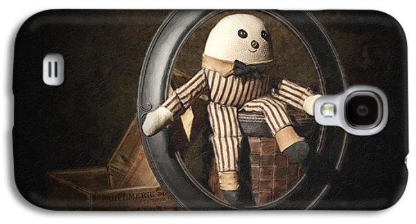 Nursery Rhyme Galaxy S4 Cases - Humpty Dumpty Galaxy S4 Case by Tom Mc Nemar