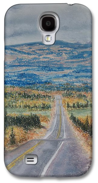 Autumn Landscape Pastels Galaxy S4 Cases - Hungry Hill Autumn Galaxy S4 Case by Stanza Widen