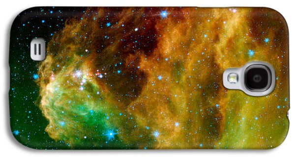 Galaxies Galaxy S4 Cases - Hunter Constellation Galaxy S4 Case by Sebastian Musial