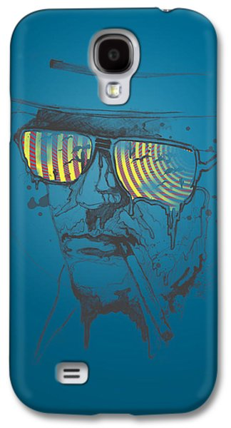 Recently Sold -  - Digital Galaxy S4 Cases - Hunter S. Thompson Galaxy S4 Case by Pop Culture Prophet