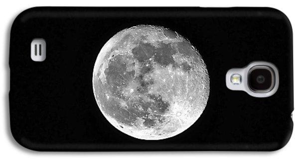 Sea Moon Full Moon Galaxy S4 Cases - Hunters Moon Galaxy S4 Case by Al Powell Photography USA