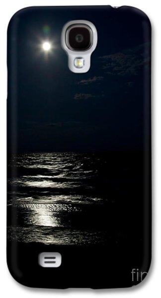 Sea Moon Full Moon Galaxy S4 Cases - Hunters Moon II Galaxy S4 Case by Michelle Wiarda