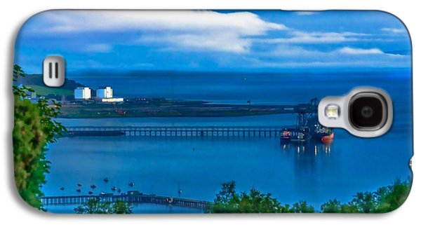 Best Sailing Photos Galaxy S4 Cases - Hunterston Deep Water Terminal Ayrshire Galaxy S4 Case by Tylie Duff