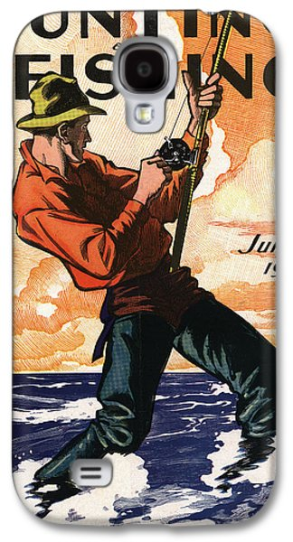 Fishing Galaxy S4 Cases - Hunting and Fishing Galaxy S4 Case by Gary Grayson