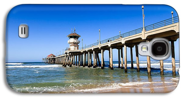 Getaway Galaxy S4 Cases - Huntington Beach Pier in Southern California Galaxy S4 Case by Paul Velgos