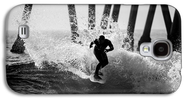Slash Galaxy S4 Cases - Huntington beach Surfer 2 Galaxy S4 Case by Pierre Leclerc Photography