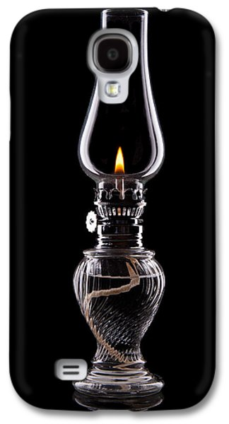 Kerosene Galaxy S4 Cases - Hurricane Lamp Still Life Galaxy S4 Case by Tom Mc Nemar