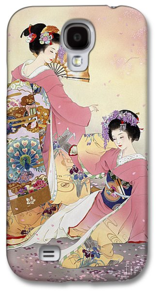 Hutari Mai Galaxy S4 Case by Haruyo Morita