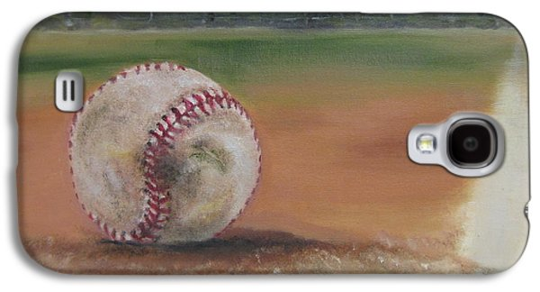Baseball Stadiums Paintings Galaxy S4 Cases - HW Field Galaxy S4 Case by Lindsay Frost
