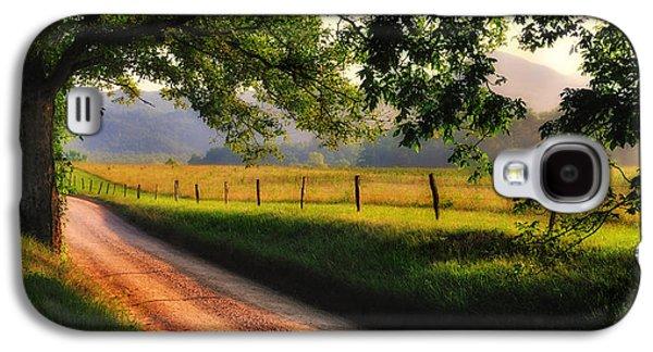 Scenic Drive Galaxy S4 Cases - Hyatt Lane - Cades Cove Galaxy S4 Case by Thomas Schoeller