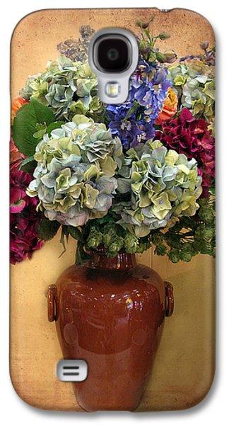 Botanical Digital Galaxy S4 Cases - Hydrangea Still Life Galaxy S4 Case by Jessica Jenney