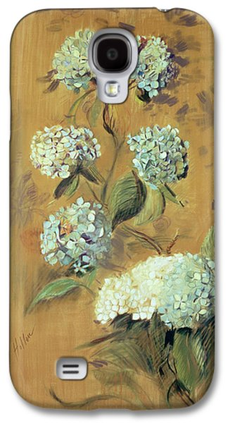 Nature Study Drawings Galaxy S4 Cases - Hydrangeas Galaxy S4 Case by Paul Cesar Helleu