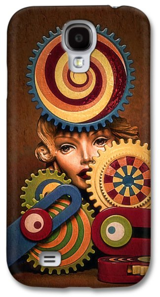 Hypnotic Woman 1 Galaxy S4 Case by Jeff  Gettis