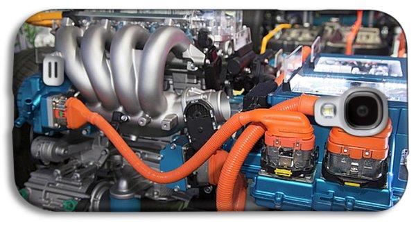 Hyundai Sonata Plug-in Hybrid Car Engine Galaxy S4 Case by Jim West
