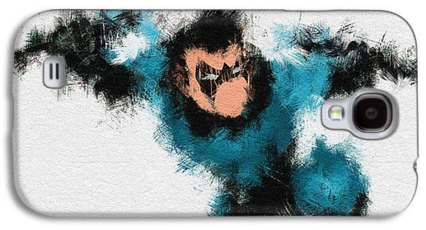 Character Portraits Galaxy S4 Cases - I Aint Kid Galaxy S4 Case by Miranda Sether